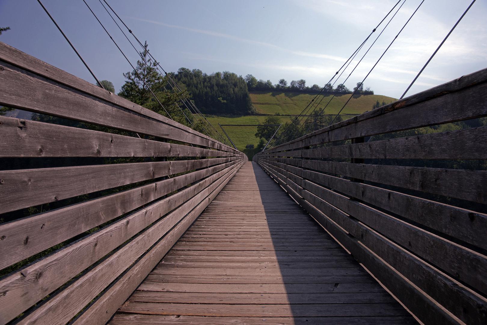 die Benni Raich-Brücke...