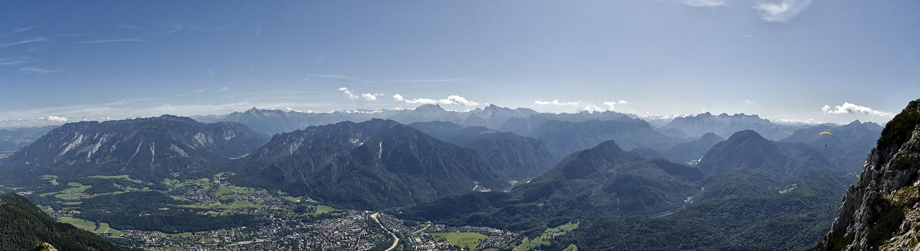 Die Berchtesgadener Alpen vom Reichenhaller Haus 2