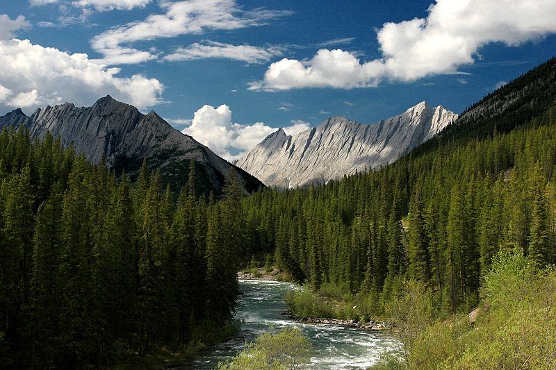 Die Berge...