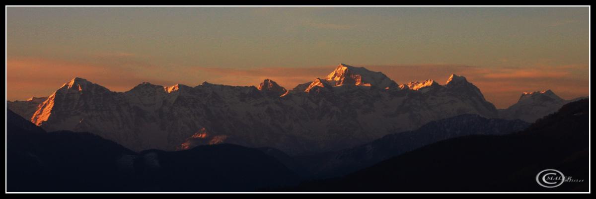 Die Berge in der Umgebung