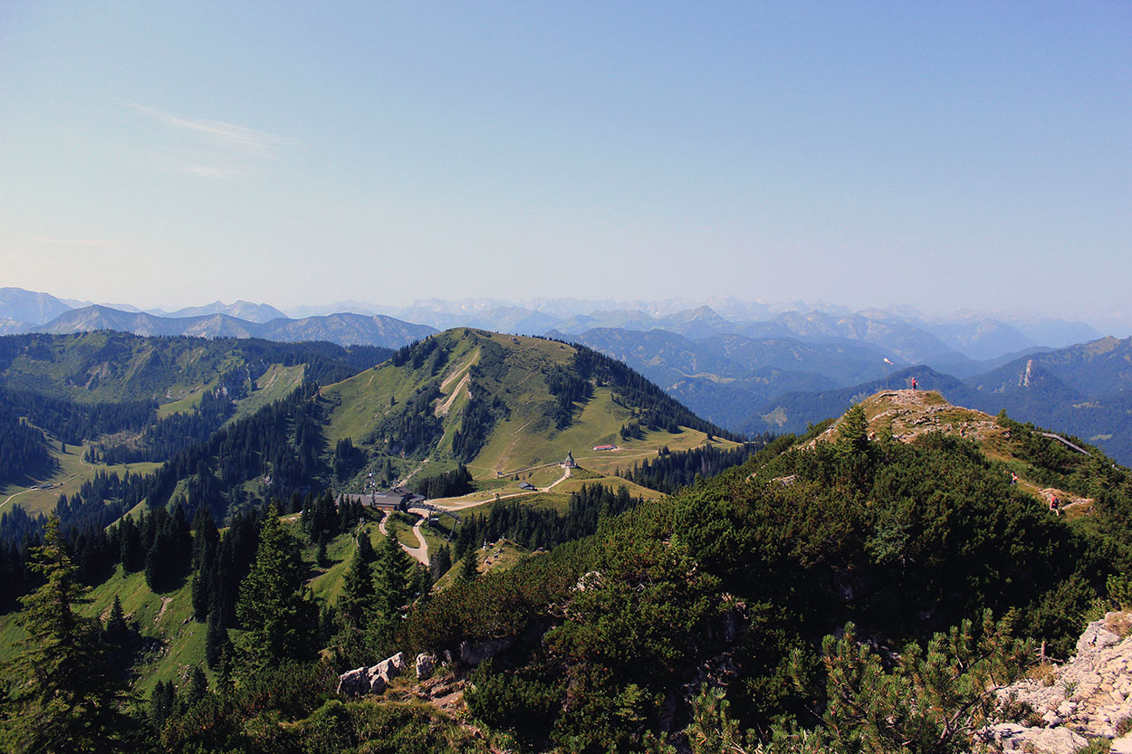 Die Berge rufen