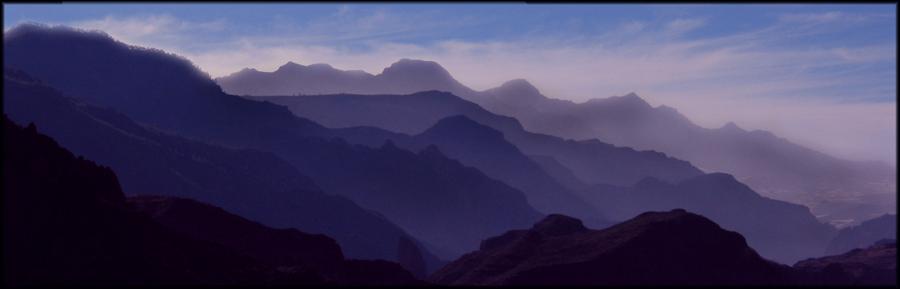 Die Berge spielen Theater