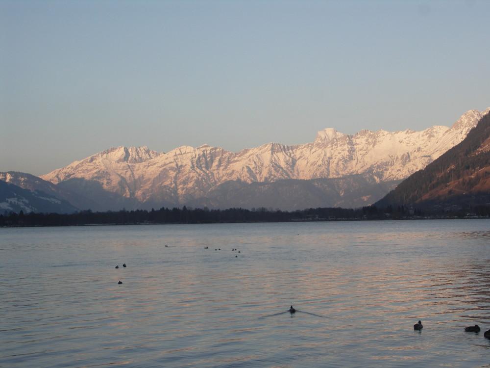 Die Berge ums Zellersee Österreich
