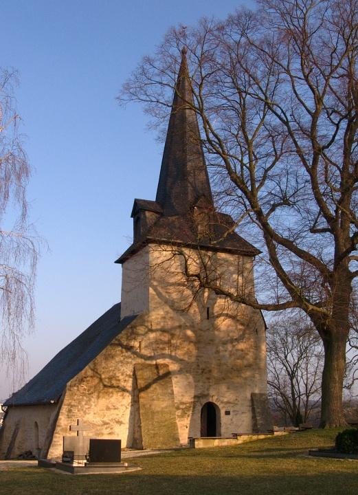 Die Berger Kirche ...