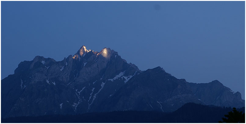 Die Berggeister erwachen...