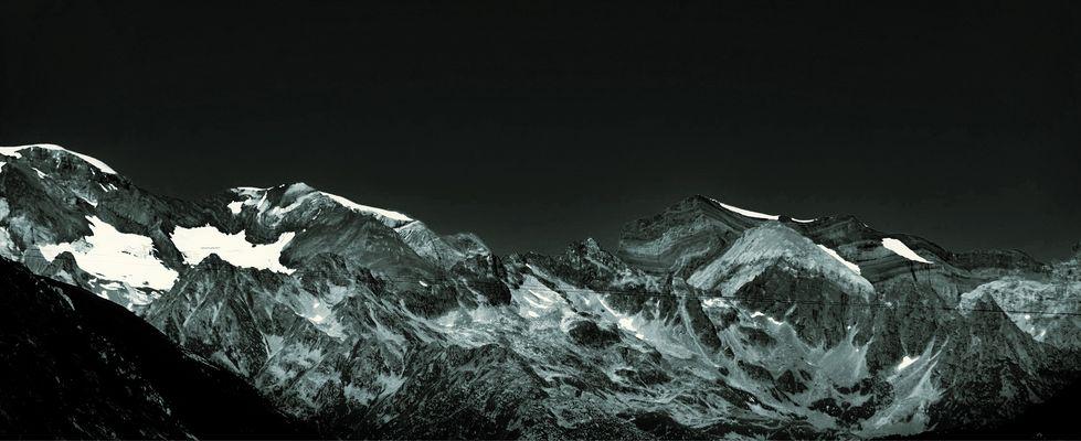 Die Bergkette
