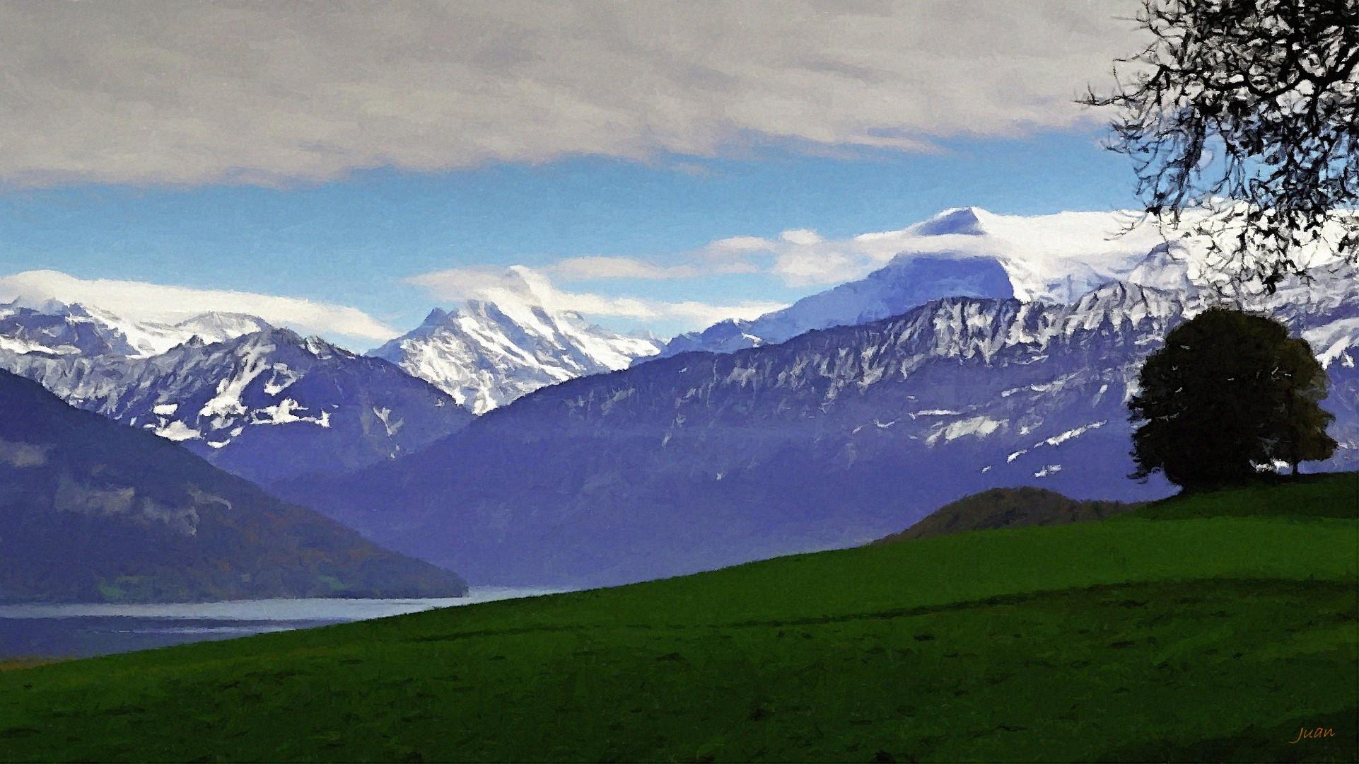 die Berner-Alpen