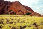 Die Besteigung des Uluru