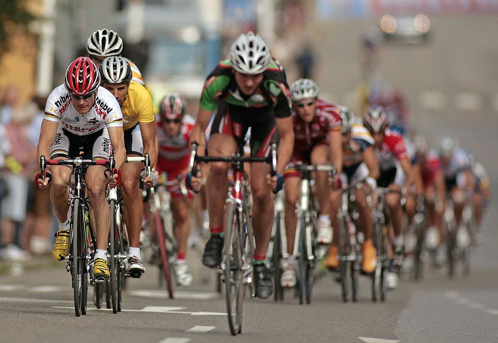 Die Besten halten sich noch zurück - Bruno Risi (Schweiz) vor dem Sieger Jürgen Kotulla (Kempten)