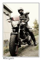 Die Bikerin
