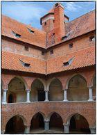 Die Bischofsburg in Lidzbark Warminski