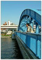 Die blaue Brücke und ich...