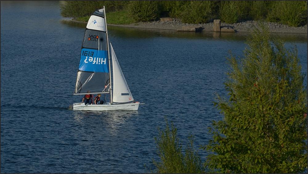 Die blaue Lagune ...