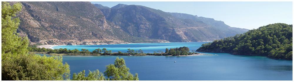 Die blaue Lagune von Ölüdeniz