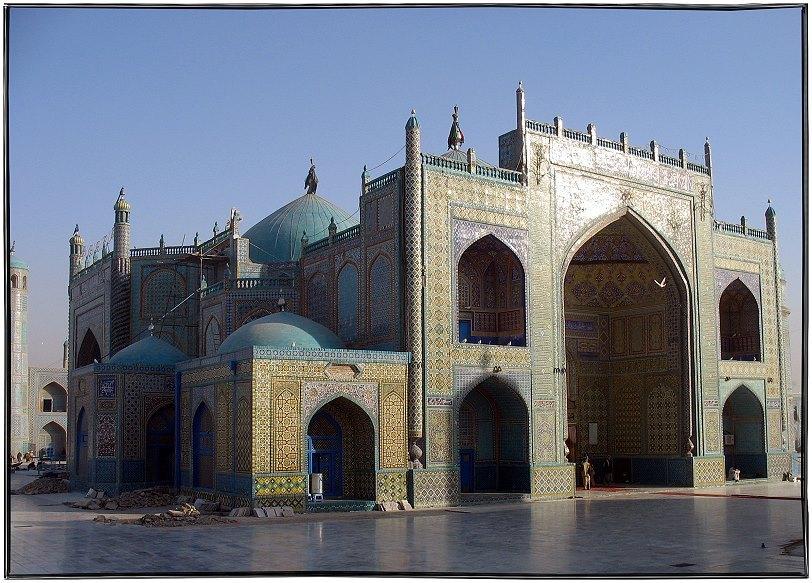 Die Blaue Moschee.......