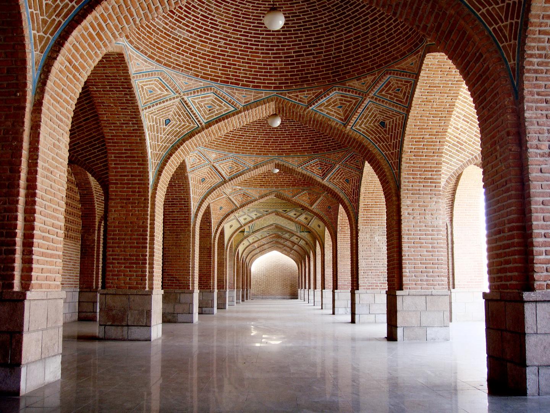 Die Blaue Moschee in Tabriz