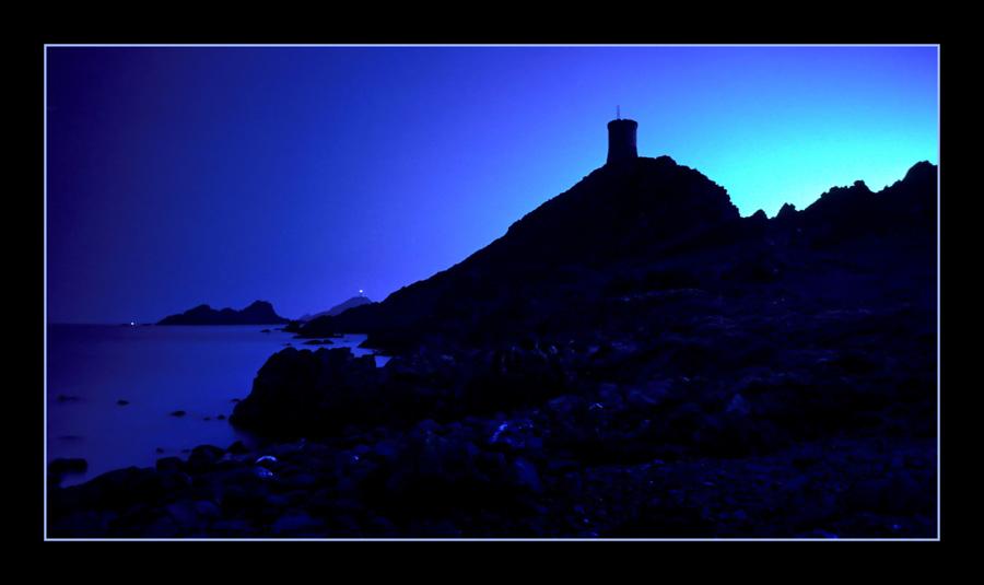 Die blaue Stunde auf Korsika