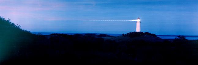 Die blaue Stunde in Dornbusch