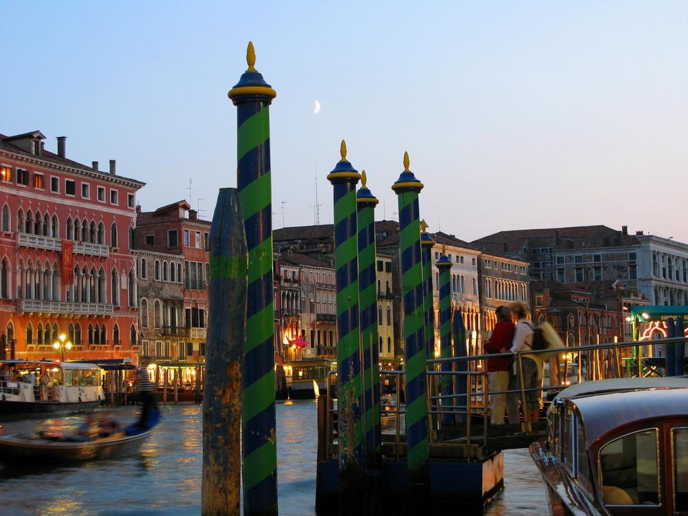 Die Blaue Stunde in Venedig