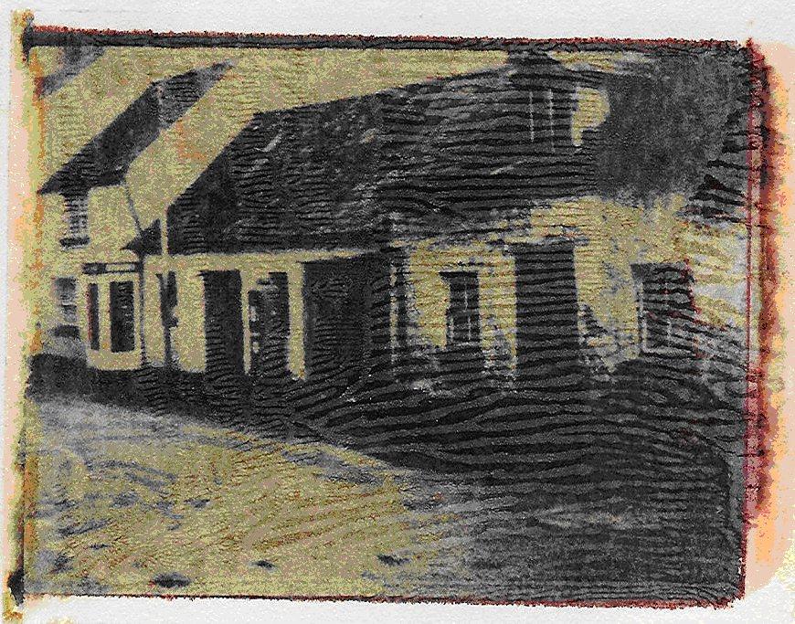 Die blauen Häuser (nass)