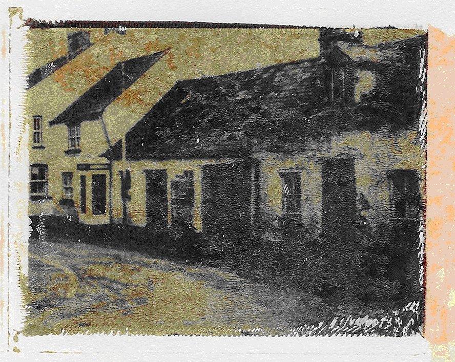 Die blauen Häuser (trocken)