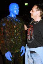 Die blauen Männchen von Berlin ...