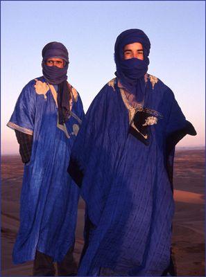 die blauen Ritter der Wüste