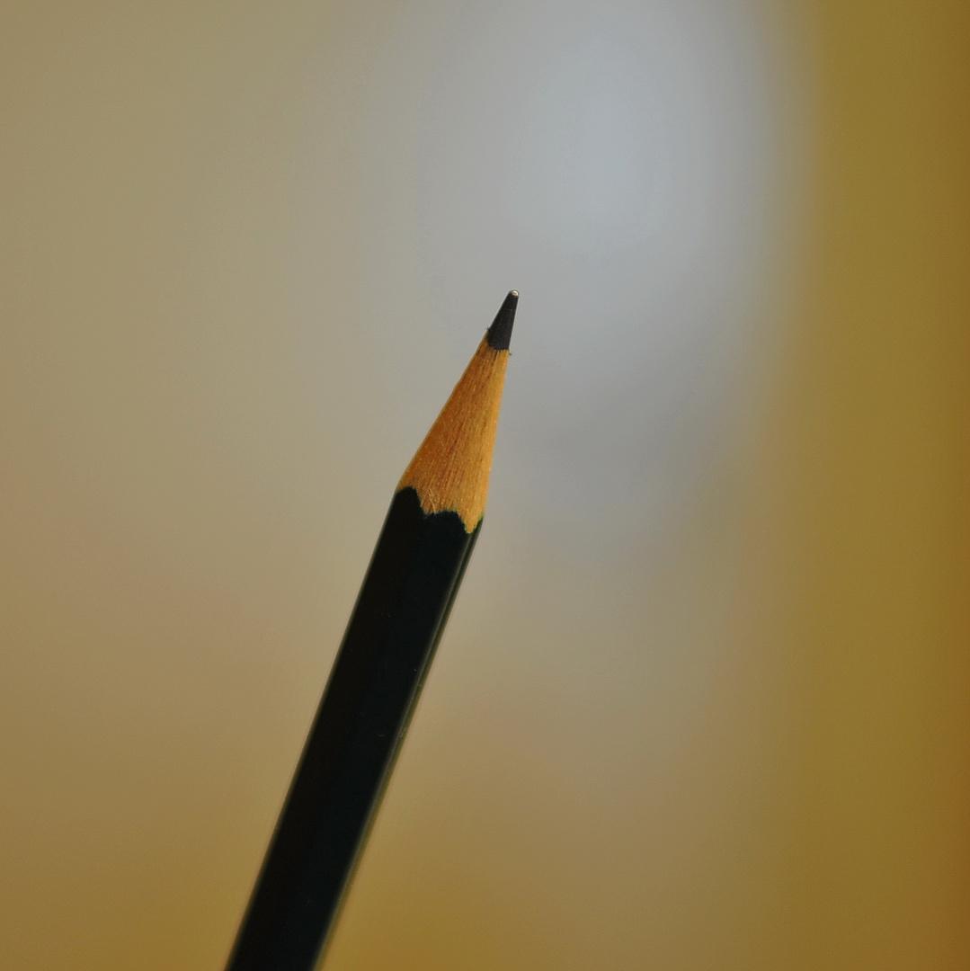 Die Bleistiftspitze