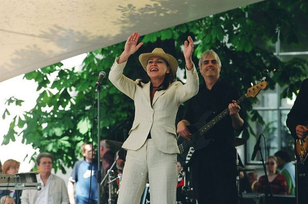 Die Blues-Sängerin Inga Rumpf