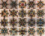 Die Blütensterne im Gewölbe der Annenkirche zu Annaberg- Buchholz