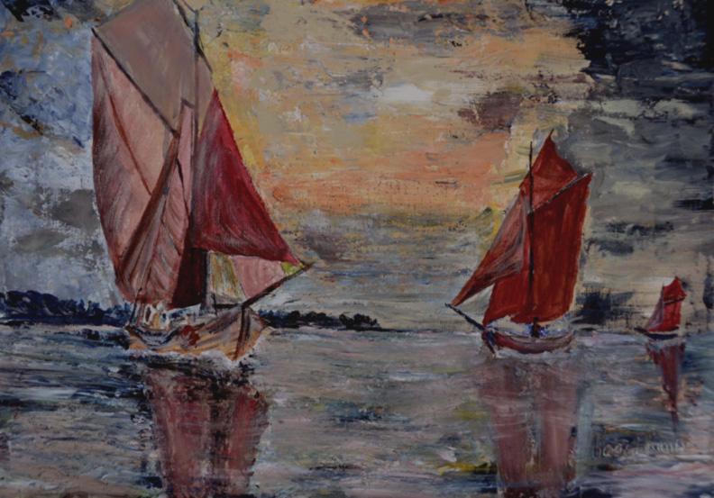 Die Boote kehren Heim