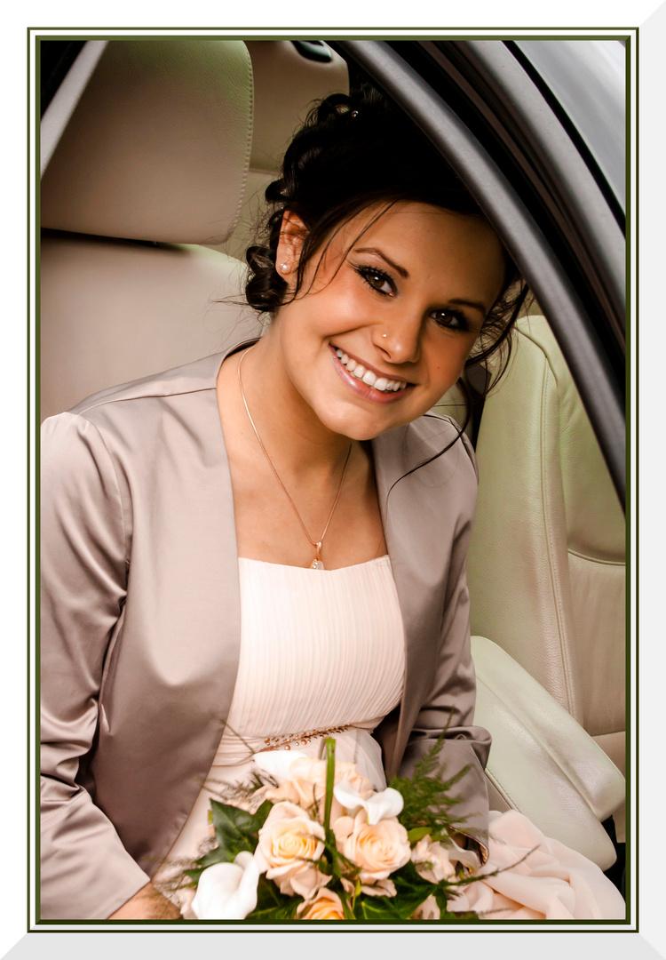 Die Braut am 9. 5. 2014