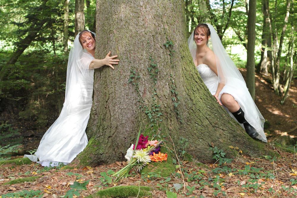 Die Braut . . .