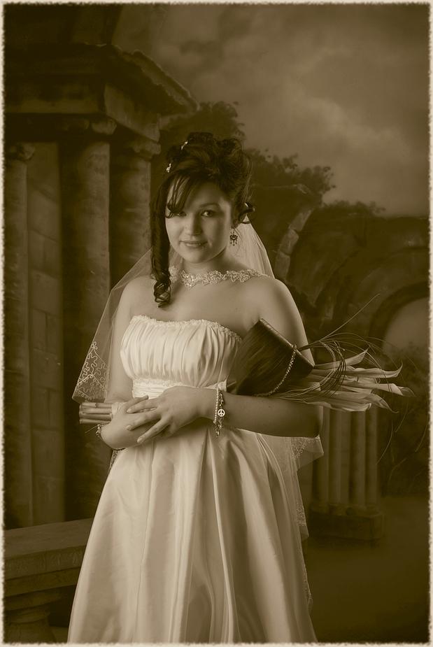 Die Braut (sepia)
