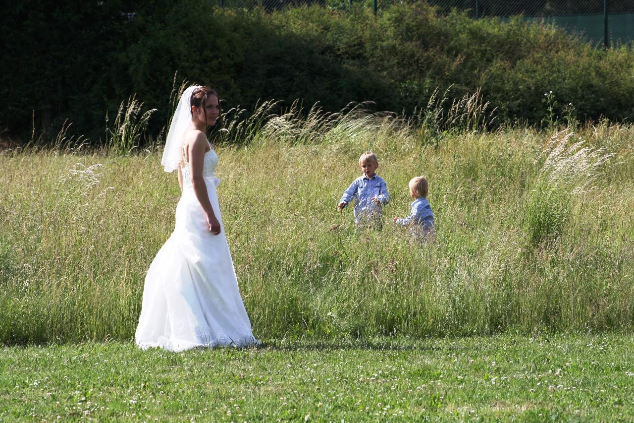 Die Braut übt