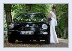 Die Braut und ihr Auto