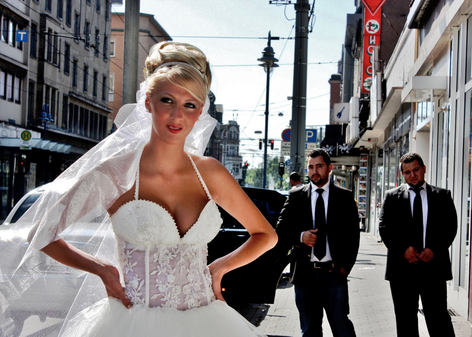 Die Braut und les Chauffeurs