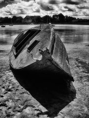 Die Bretagne meines Herzens! (2) Das alte Boot