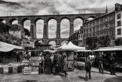 Die Bretagne meines Herzens! (3) Viadukt mit Markt