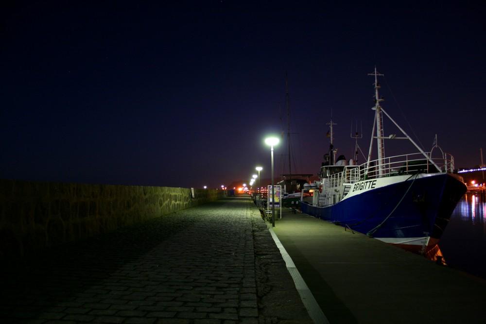 Die BRIGITTE im Hafen von Sassnitz