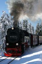Die Brockenbahn im letzten Winter