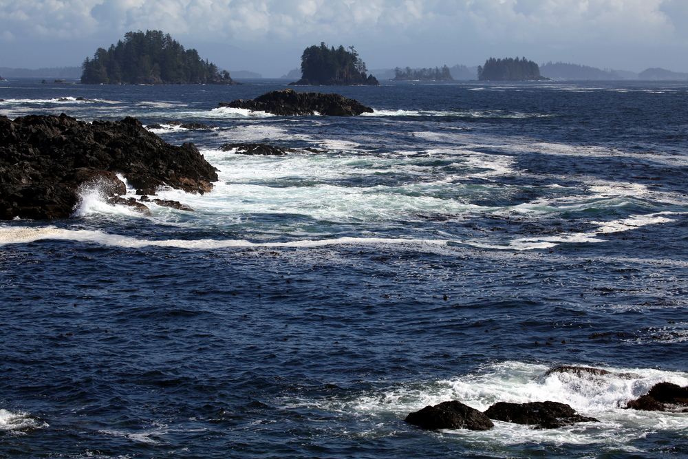 Die Broken Islands im Barkley Sound - Vancouver Island
