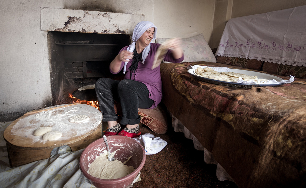 Die Brotbäckerin