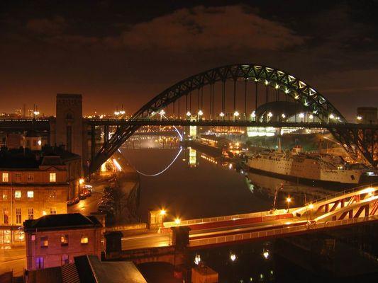 die brucke auf Newcastle