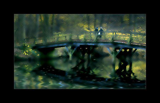 die Brücke am See.....