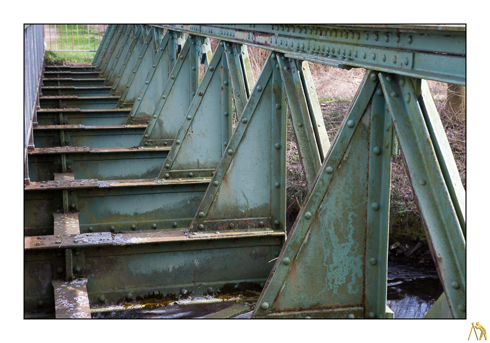Die Brücke an der Niers