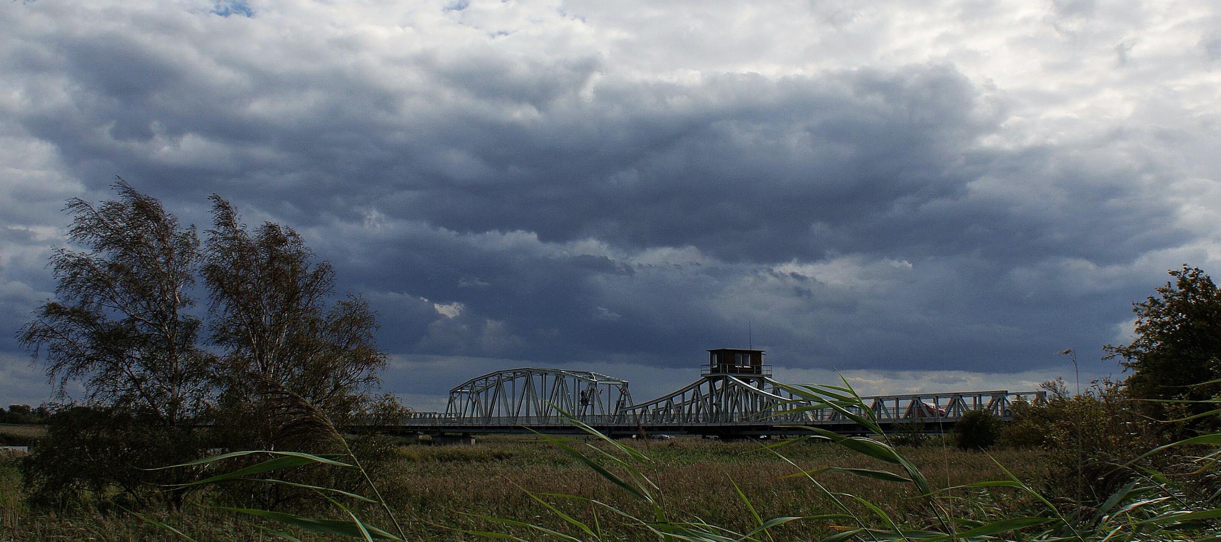 die Brücke bei Zingst