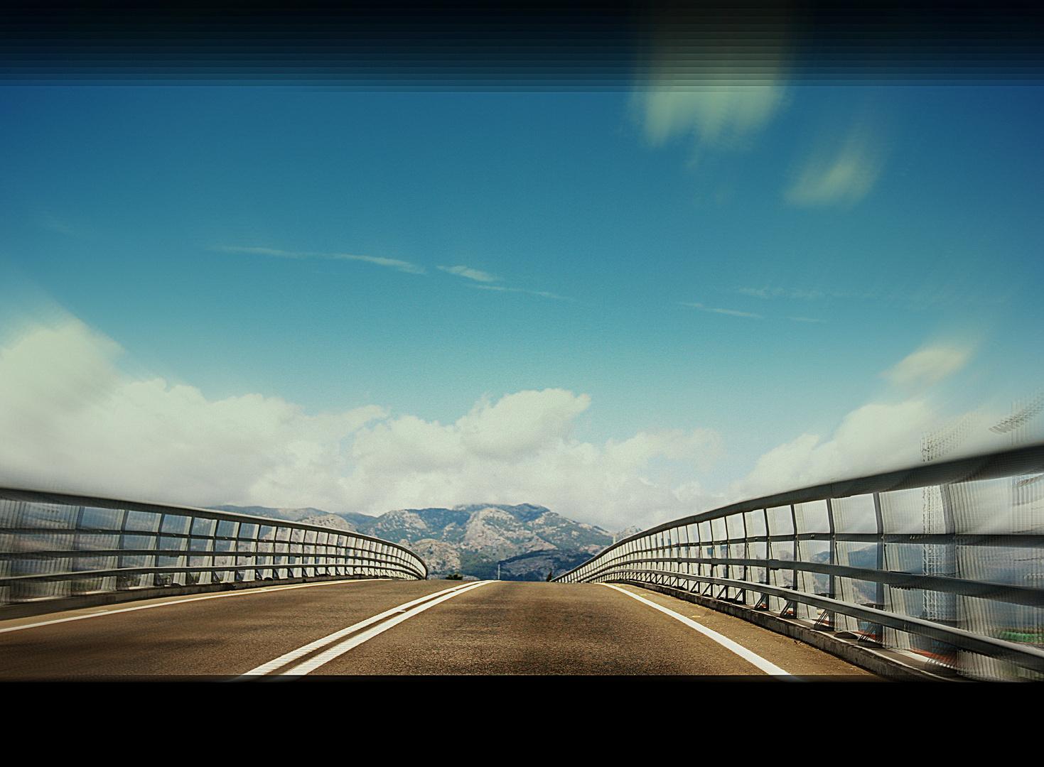 Die Brücke in ein schönes Land