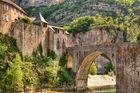 Die Brücke in Sainte-Enimie