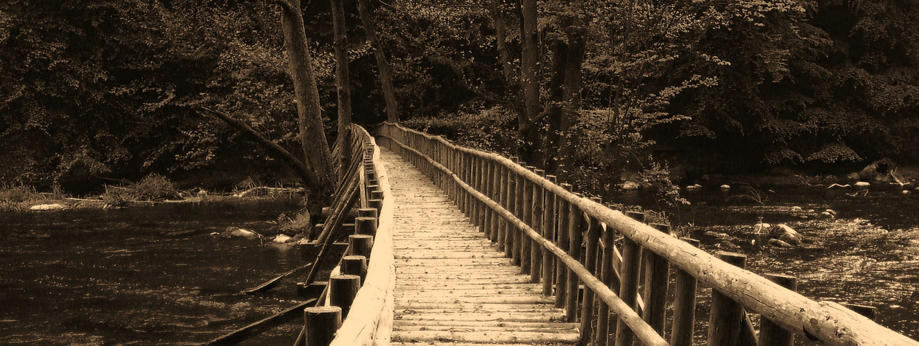 Die Brücke ist der Weg